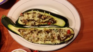 %gevulde courgette