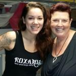 Roxa Rosa met Gappie Mama Mariëlle